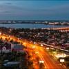 Северный мост ночью